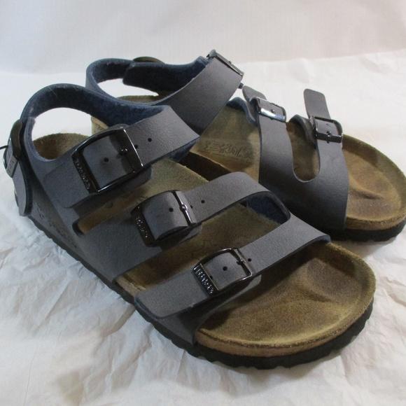 Birki's By Birkenstock Blue 3 Strap Sandals 230 L5